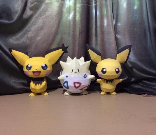 pokémon pikachu y togepi