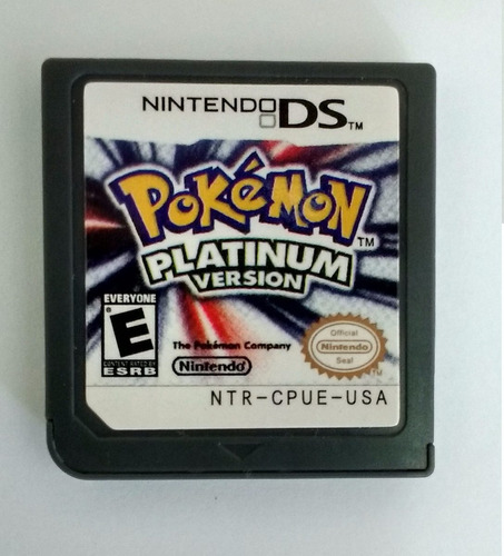 pokemon platinum para nintendo ds 2ds 3ds frete grátis