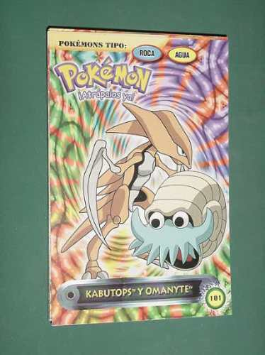 Pokemon Postcard Nintendo # 101 Kabutops & Omanyte - $ 54,63