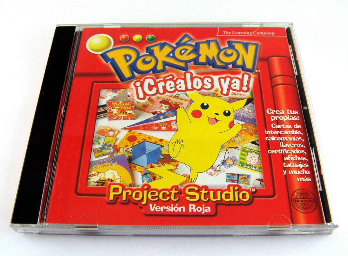 Mlm 549714775 Pokemon Project Studio Version Roja Mattel Inc 2000 Jm