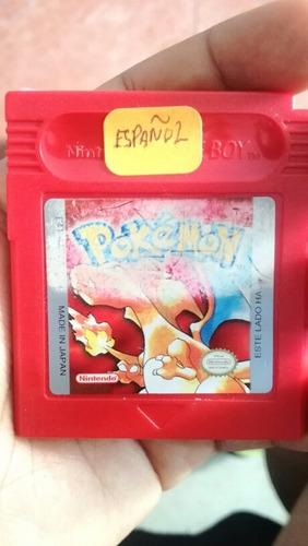pokémon red en español para game boy color.