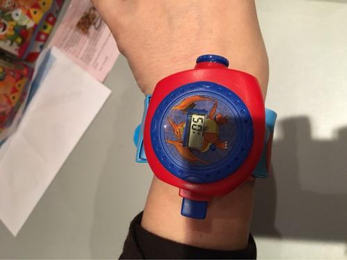 pokemon reloj  envio gratis 24 proyecciones! digital niños