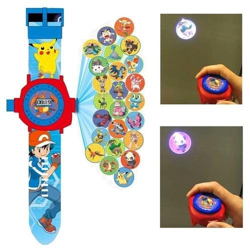 pokemon reloj  envio gratis 24 proyecciones! pikachuniños