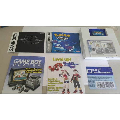 Pokemon Sapphire Game Boy Advance Pokemon Kyogre  $ 1,299