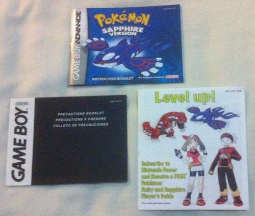 pokemon - sapphire version