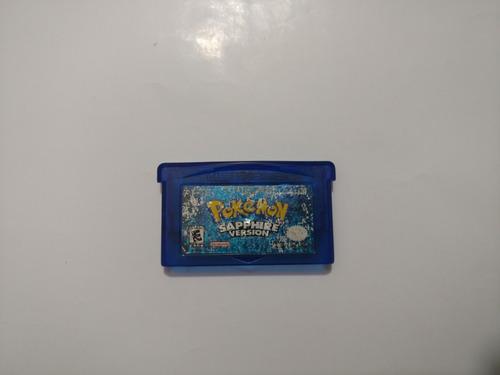 pokemon sapphire version juego de game boy advance gba