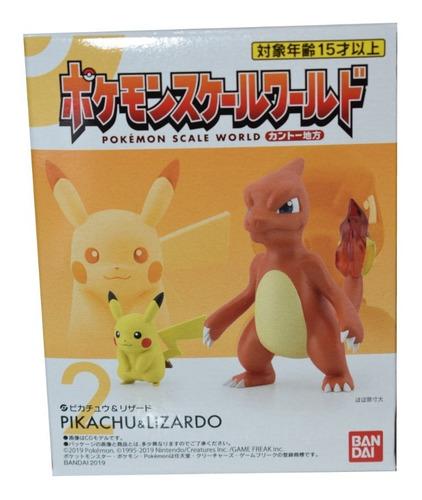 pokemon scale world kanto - mewtwo red pikachu charmeleon