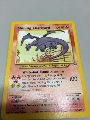 pokemon shining charizard (raro) triplestar