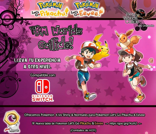 pokemon shiny let's go pikachu eevee nintendo switch  6ivs