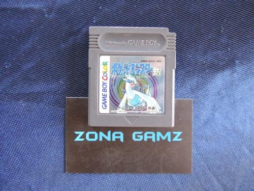pokemon silver nintendo gameboy color zonagamz