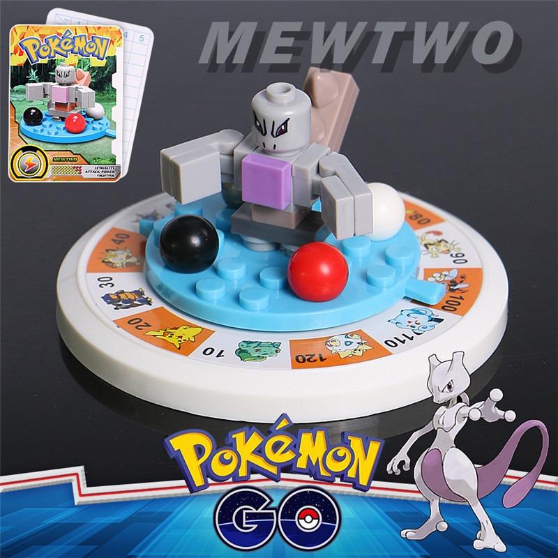 Pokemon Sl8942 Mewtwo Mini Figuras Lego Personaje Encastre 7500