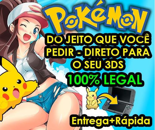 pokemon sm/ultrasm/oras/xy + brindes - competitivo