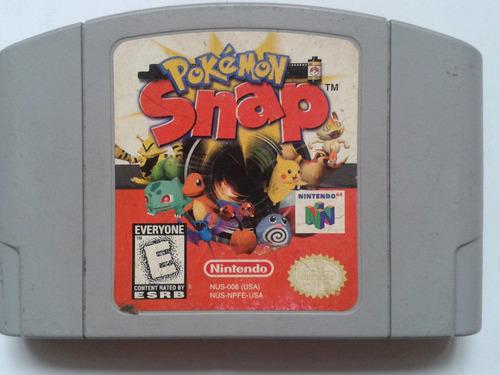 pokemon snap nintendo 64. original