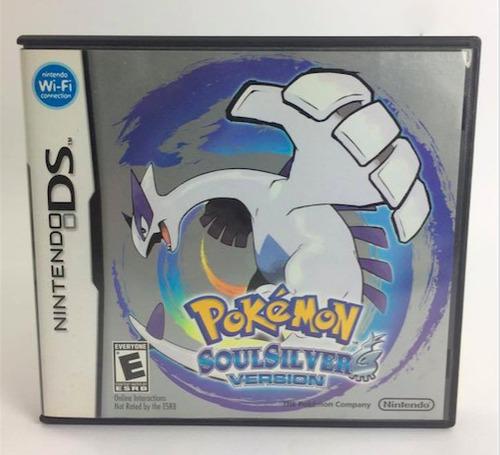 pokemon soul silver version - ds / dsi / 3ds / barato top