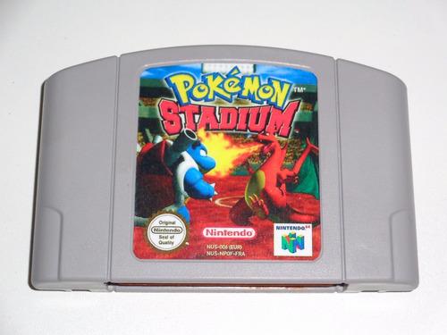 pokemon stadium original n64 + garantia!!!!