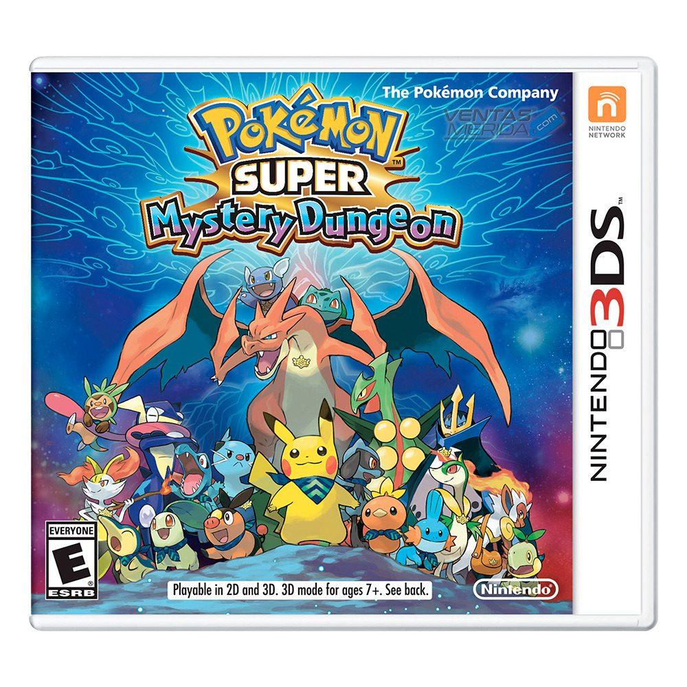 Pokemon Super Mystery Dungeon Para Nintendo 3ds 840 00 En