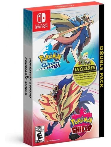 pokemon sword & shield + extras switch mídia física novo