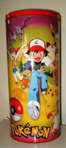 pokemon - tarro 38 cm alto x 16 diametro