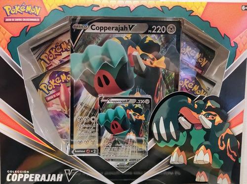 pokemon tcg: copperajah v box español