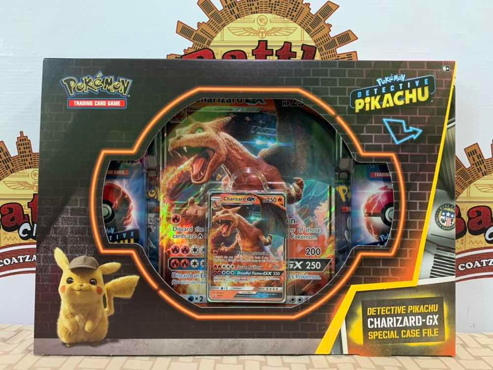 Pokemon Tcg Detective Pikachu Charizard Gx Special Case File