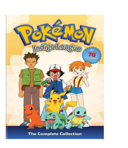 pokemon temporada 1 indigo ligue importada dvd