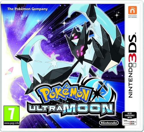 pokemon ultra moon nintendo 3ds  nuevo (en d3 gamers)
