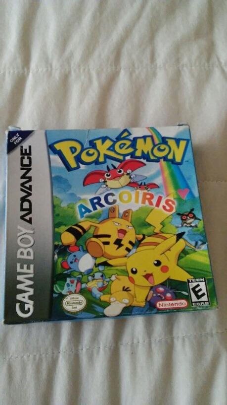 pokemon arcoiris gameboy advance