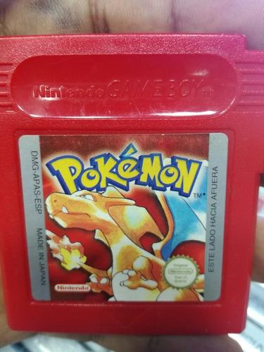 pokémon version roja en español para game boy color.