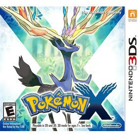 Pokémon X - Nintendo 3ds (físico) Id