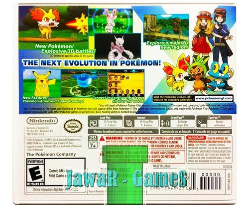 pokemon x en español + 719 pokes - nintendo 2ds & 3ds