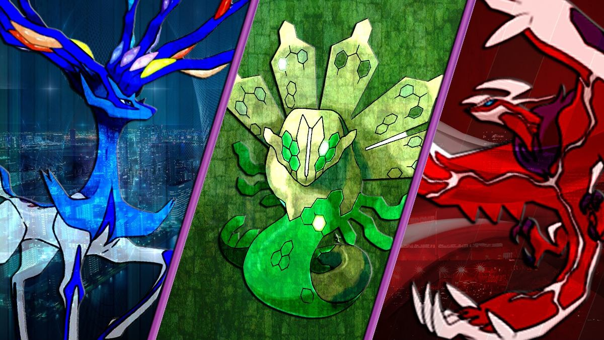 Pokemon Xerneas Yveltal Zygarde Evento Or As X Y + Itens ...
