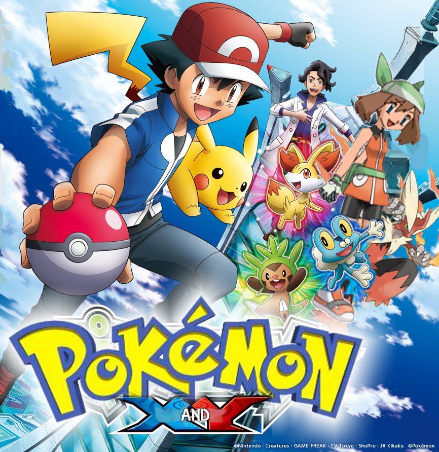 Pokemon Xy Xy Kalos Quest Xyz Dublado Dvd R 49 90 Em