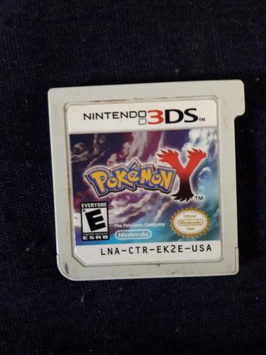 pokemon y (solo el juego)