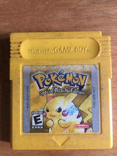 pokemon yellow game boy color