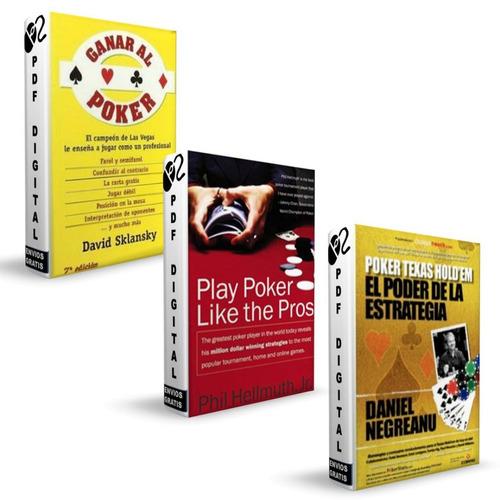 poker estrategia daniel negreanu 3 libros - digital