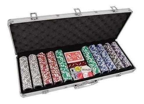 poker game set 500 pc gocy 80154