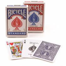 Cartas Bicycle Nylon Mazos Standard Poker Magia Rojas Y Azul