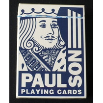 Cartas Poker Y Magia / Baraja Paulson
