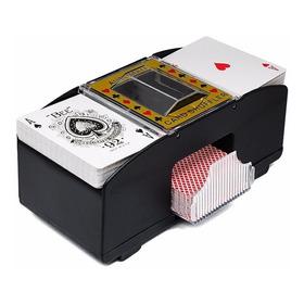 Poker Mezclador Más Dos Mazos 100% Plástico Jumbo + Copag