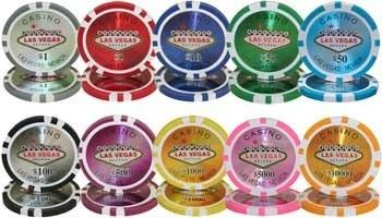 poker rollito de 25 fichas pro 14 grs mod las vegas