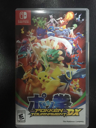 pokkén tournament dx ns usado