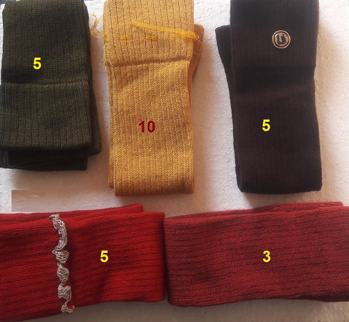 polainas de lana ideal para el invierno