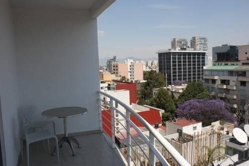 polanco departamento 2 recamaras con balcon