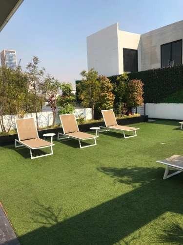 polanco departamento amueblado con terraza