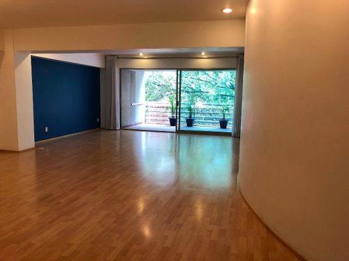 polanco , departamento con balcon exterior 4o piso