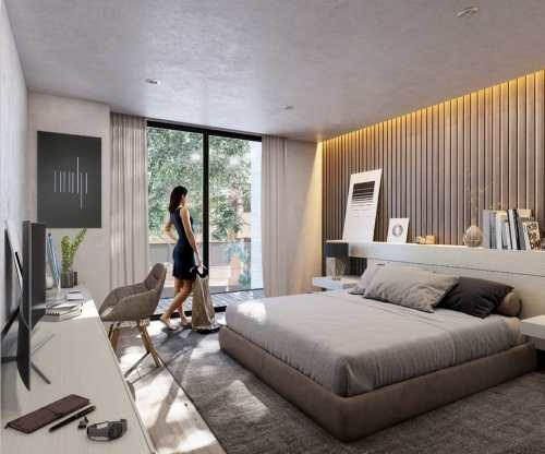 polanco, garden house en venta, diseño de lujo y acabados modernos
