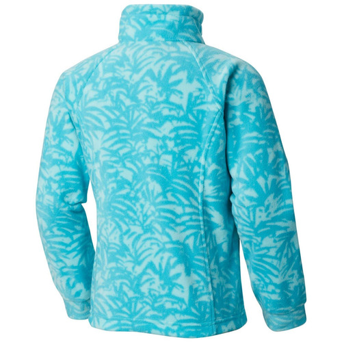 polar benton springs ii printed fleece verde