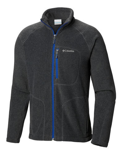 polar fast trek ii full zip fleece gris