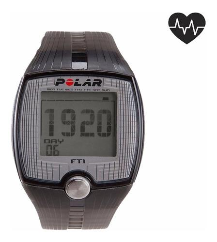 polar ft1 monitor cardíaco + banda sumergible caja original