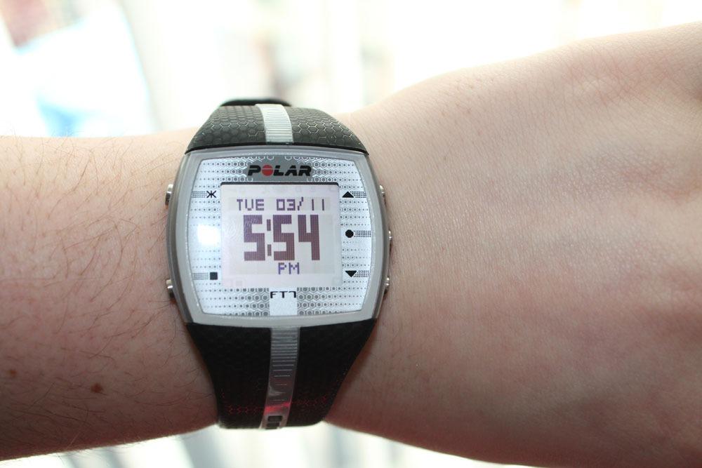 1dc730d0fb4 polar ft7 preto de vitrine relógio monitor cardíaco. Carregando zoom.